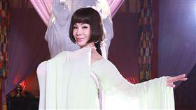 陳美鳳挑大樑演出民視《大時代》,而且還要跨時空演繹「少女時代」的武則天,圖/民視提供