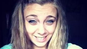 美國女子穆瑟爾特(Kaylee Muthart)吸毒後挖掉自己的雙眼(圖/翻攝自推特)