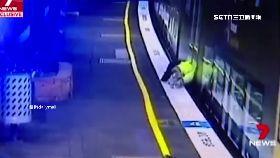 靠火車險死1100