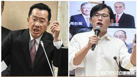 黃國昌、顧立雄/記者林敬旻攝影