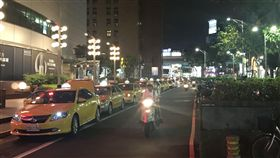 台北,忠孝復興站,計程車,保護費,砸車,恐嚇取財,組織犯罪防制條例。呂品逸攝