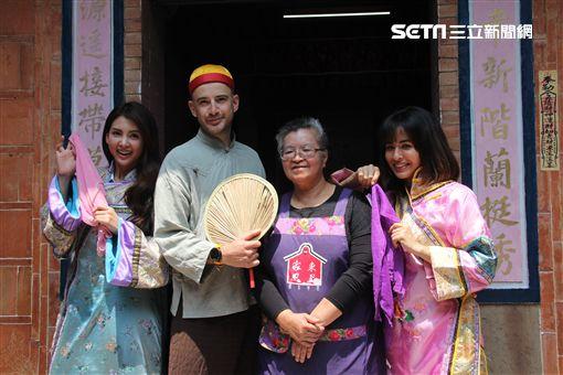 吳鳳搞穿越演起小鳳子,與韋汝及雷艾美在客家大院上演古裝大戲