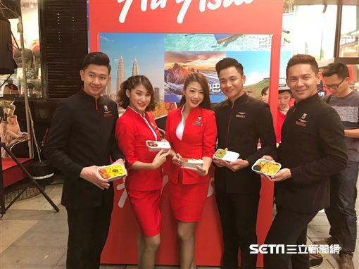 AirAsia空姐, 四葉草。(圖/記者簡佑庭攝)