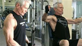 68歲的比爾練就一身健美身材,讓不少人驚呼。(圖/翻攝IG)