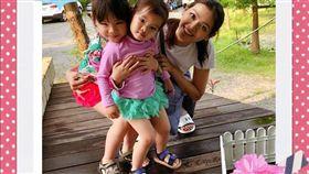 ▲▼林嘉綺婚後育有2個女兒。(圖/翻攝自臉書)