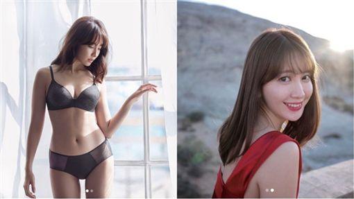 小嶋陽菜私密處曝光/翻攝自IG