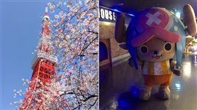 東京鐵塔航海王樂園(圖/翻攝自東京ワンピースタワー / Tokyo Onepiece Tower臉書)