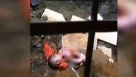 16:9 影/好諷刺…陸女嬰兒童節當日被遺棄 臍帶還連在身上 圖/翻攝自微博