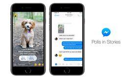 一邊聊一邊投!Messenger推「限時投票」對尬IG(圖/翻攝自臉書)