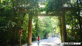 日本,名古屋,三重,伊勢神宮,神社。(圖/記者馮珮汶攝)