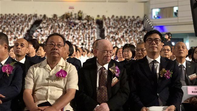 出席一貫道三十周年感恩大會 陳其邁:穩定社會的重要力量   政治   三立新聞網 SETN.COM