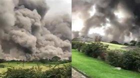 瓜地馬拉富埃戈火山/Periodista William Gomez Luna臉書