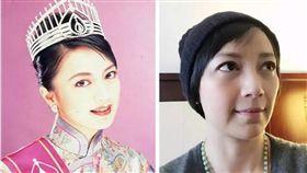 香港女星楊婉儀,1995年香港小姐冠軍。(翻攝微博)