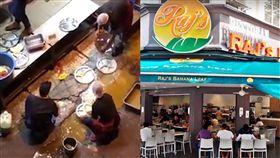 馬來西亞,印度,吉隆坡,餐廳,洗碗,路邊.積水,員工,新進,噁心,衛生,餐盤 圖/翻攝自YouTube https://goo.gl/e3vccX