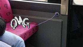 香港,巴士,跳蛋,乘客,網友,臉書,爆廢公社,藍瘦香菇(圖/翻攝自臉書社團《爆廢公社公開版》)