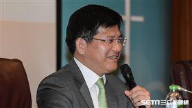 台中市長林佳龍主持總統直選與民主台灣學術研討會 圖/記者林敬旻攝