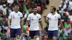 最菜英格蘭世界盃代表隊,熱身賽2比1勝奈及利亞。(圖/美聯社/達志影像)