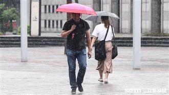 天氣不穩注意大雨!明高溫飆破30度