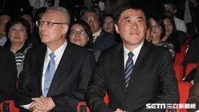 國民黨副主席郝龍斌、前副總統吳敦義 圖/記者林敬旻攝