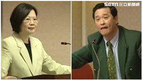 蔡英文、馮定國,新聞台資料照合成圖