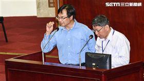 台北市民政局長藍世聰。 圖/記者林敬旻攝