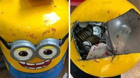 冷媒桶,存錢桶,一桶金,殺豬公,迪士尼,改造,小小兵(圖/翻攝自爆廢公社)