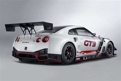 Nissan GT-R Nismo GT3賽車。(圖/翻攝Nissan網站)