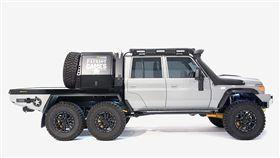 Patriot Campers Megatourer 6×6越野車。(圖/翻攝Patriot Campers網站)