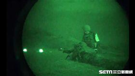 漢光演習 海軍陸戰隊夜間殲敵 國防部提供