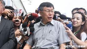 台北市長柯文哲出席innovex開幕典禮。 (圖/記者林敬旻攝)