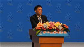 郝龍斌在海峽論壇上致辭中國國民黨副主席郝龍斌6日在第10屆海峽論壇上致辭時呼籲,過去兩岸之間已經達成的協議,一定要持續推動進行。中央社記者張淑伶廈門攝  107年6月6日