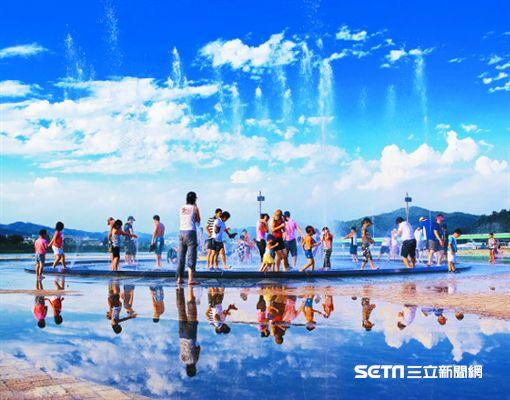韓國夏日慶典,長興正南津親水節。(圖/韓國觀光公社提供)