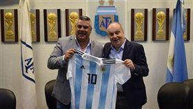 ▲阿根廷足協主席。(圖/取自AFA IG)
