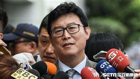 民進黨台北市長參選人姚文智。 (圖/記者林敬旻攝)