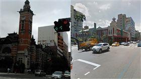 台中,日本,街景,相似度,PTT,批踢踢 圖/翻攝自PTT