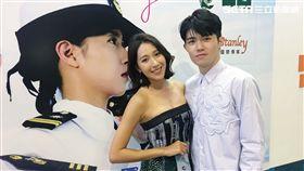 楊晴帶師弟張耀仁前往越南電影節。(圖/TVBS提供)