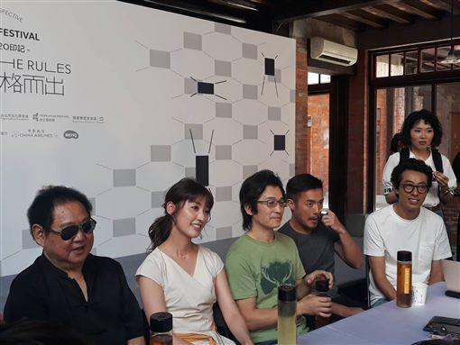 ▲魏德聖導演率領《海角七號》劇組,出席台北電影節活動。(圖/記者邱明瑜攝)