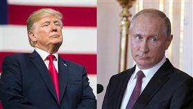 川普、普丁 合成圖翻攝自Vladimir Putin、Donald J. Trump臉書