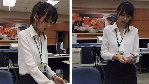 一名男網友日前到銀行辦理業務時,遇到一名外型神似日本女星波多野結衣的超正櫃姐,他鼓起勇氣撩她卻慘被打槍。其他網友看到掀起熱議,紛紛直喊「太美了」,甚至還有網友揪團「要開戶了!」(圖/翻攝自爆廢公社)