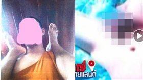 泰國北欖坡府有一間寺廟的沙彌在寺中慘遭住持性侵、猥褻,他氣得向電視台揭開住持的惡行,重創當地佛教人士形象。當地佛教管理部門獲報後,相關部門已勒令該住持還俗。(圖/翻攝自泰國網)