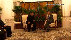 北韓領導人金正恩,新加坡總理李顯龍,圖/翻攝自李顯龍臉書