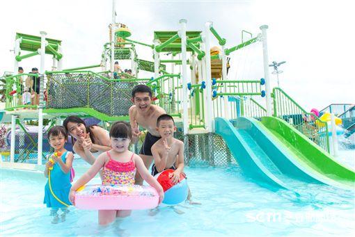 六福水樂園。(圖/六福旅遊集團提供)