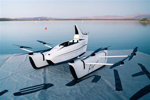 Kitty Hawk電動飛行器。(圖/翻攝flyer網站)