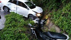 2台灣遊客在泰國遇車禍身亡(圖/翻攝自推特)