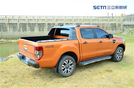Ford Ranger。(圖/鍾釗榛攝影)