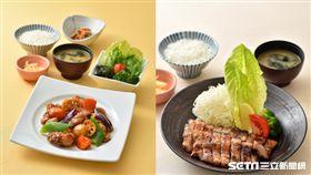 日式定食,大戶屋。(圖/全家提供)