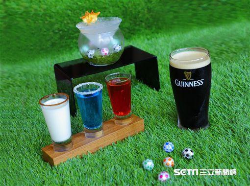 世足賽,世界杯足球賽觀賽場地,酒吧。(圖/六福萬怡酒店提供)
