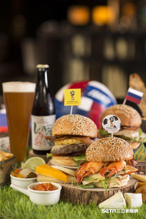 世足賽,世界杯足球賽觀賽場地,酒吧。(圖/香格里拉台北遠東國際大飯店提供)