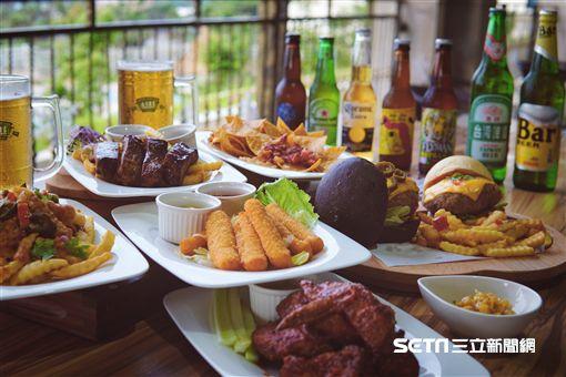 世足賽,世界杯足球賽觀賽場地,酒吧。(圖/福容大飯店提供)