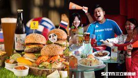 世足賽,世界杯足球賽觀賽場地,酒吧。(圖/飯店提供)